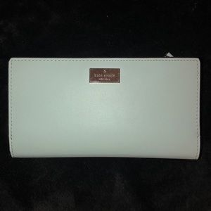 Kate spade wallet light blue